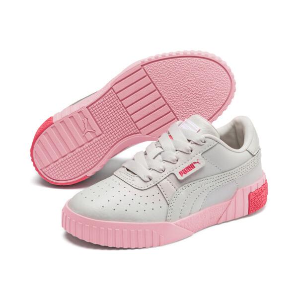 Zapatos Cali Little para niños, Gray Violet-Calypso Coral, grande