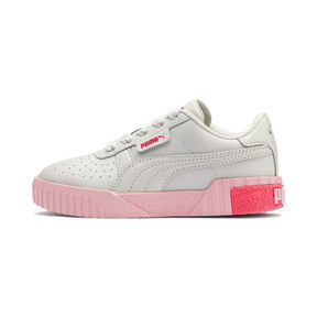 Thumbnail 1 of Cali Girls' Trainers, Gray Violet-Calypso Coral, medium