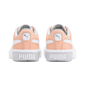 Thumbnail 3 of Cali Girls' Trainers, Peach Parfait-Heather, medium