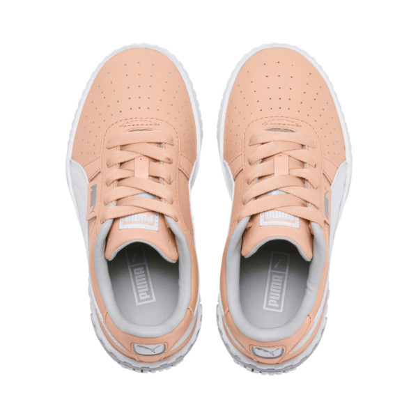 Cali Girls' Trainers, Peach Parfait-Heather, large