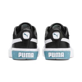 Miniatura 3 de Zapatos Cali Little para niños, Puma Black-Milky Blue, mediano