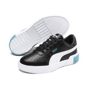 Miniatura 2 de Zapatos Cali Little para niños, Puma Black-Milky Blue, mediano