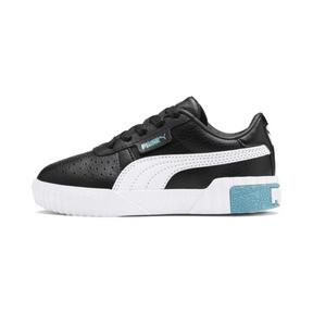 Miniatura 1 de Zapatos Cali Little para niños, Puma Black-Milky Blue, mediano
