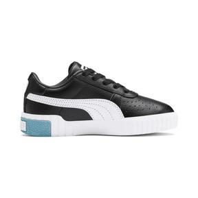 Miniatura 5 de Zapatos Cali Little para niños, Puma Black-Milky Blue, mediano