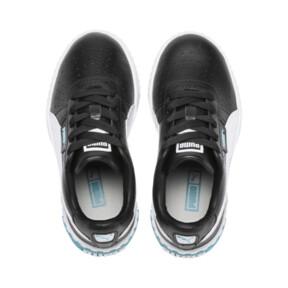 Miniatura 6 de Zapatos Cali Little para niños, Puma Black-Milky Blue, mediano