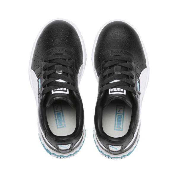 Zapatos Cali Little para niños, Puma Black-Milky Blue, grande