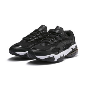 Thumbnail 3 of Cell Venom Reflective Trainers, Puma Black-Puma White, medium