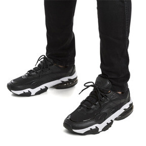Thumbnail 7 of Cell Venom Reflective Trainers, Puma Black-Puma White, medium
