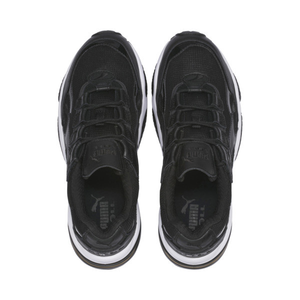 Cell Venom Reflective Trainers, Puma Black-Puma White, large