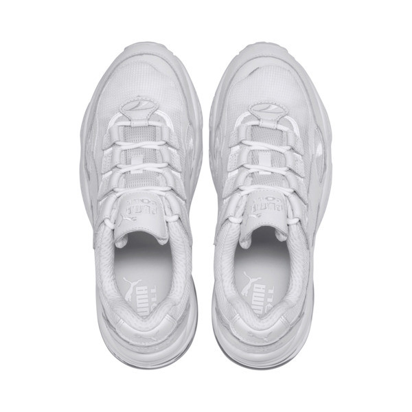 Basket Cell Venom Reflective, Puma White-Puma White, large