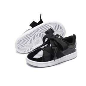 Thumbnail 2 of PUMA Smash v2 Patent Buckle AC Toddler Shoes, Puma Black-Puma Silver-White, medium