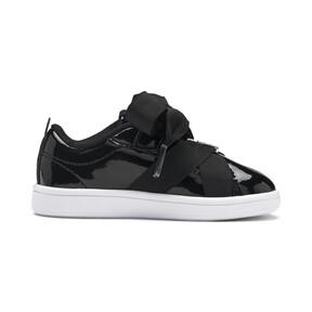 Thumbnail 5 of PUMA Smash v2 Patent Buckle AC Toddler Shoes, Puma Black-Puma Silver-White, medium