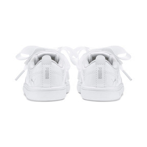 Thumbnail 3 of PUMA Smash v2 Patent Buckle AC Sneakers INF, Puma White-Puma Silver, medium