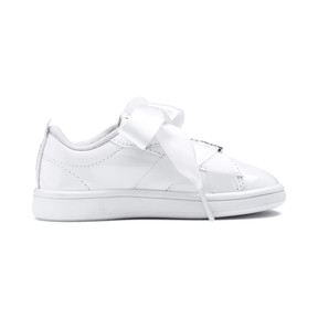 Thumbnail 5 of PUMA Smash v2 Patent Buckle AC Sneakers INF, Puma White-Puma Silver, medium
