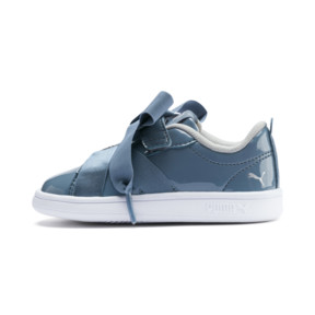 PUMA Smash v2 Patent Buckle AC Toddler Shoes