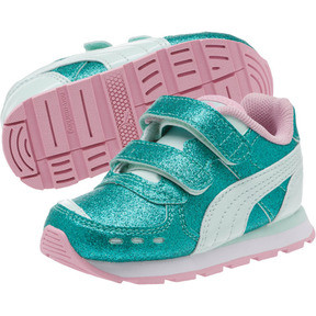Thumbnail 2 of Vista Glitz Sneakers INF, Fair Aqua-Pale Pink, medium