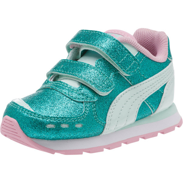 Vista Glitz Sneakers INF, Fair Aqua-Pale Pink, large