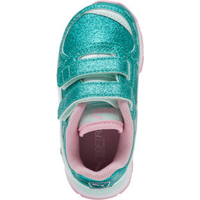 Thumbnail 5 of Vista Glitz Sneakers INF, Fair Aqua-Pale Pink, medium