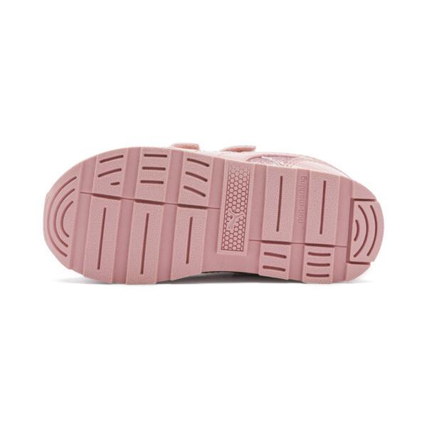 Vista Glitz Toddler Shoes, Bridal Rose-Gray Violet, large