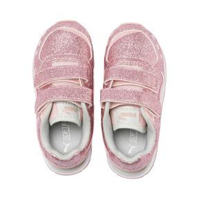 Thumbnail 6 of Vista Glitz Toddler Shoes, Bridal Rose-Gray Violet, medium