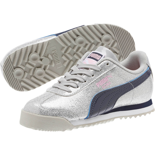 Roma Glam Sneakers PS, Gray Violet-Peacoat, large
