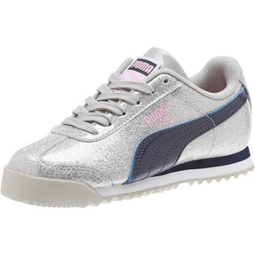 Thumbnail 1 of Roma Glam Sneakers PS, Gray Violet-Peacoat, medium
