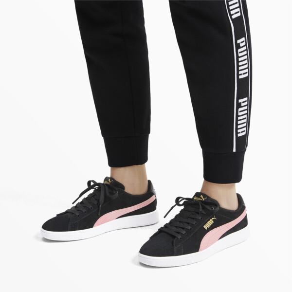 PUMA Vikky v2 Women's Sneakers, Puma Black-B Rose-Gold-White, large