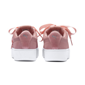 Thumbnail 3 of PUMA Vikky Stacked Ribbon Women's Trainers, Peach Bud-Peach Bud, medium