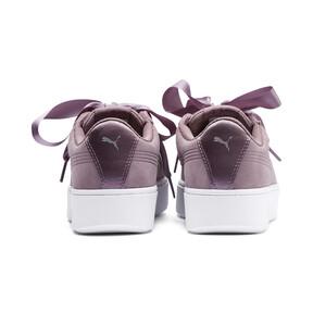 Thumbnail 3 of Vikky Stacked Ribbon Damen Sneaker, Elderberry-Elderberry, medium