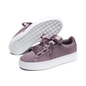 Thumbnail 2 of Vikky Stacked Ribbon Damen Sneaker, Elderberry-Elderberry, medium