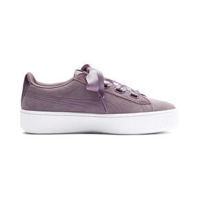 Thumbnail 5 of Vikky Stacked Ribbon Damen Sneaker, Elderberry-Elderberry, medium