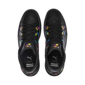 Thumbnail 8 of PUMA x BRADLEY THEODORE Basket Mid Trainers, Puma Black, medium