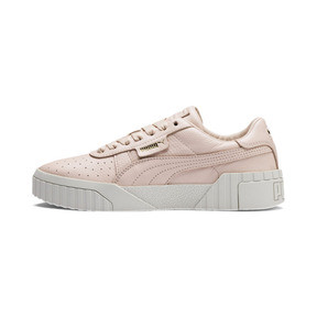 Thumbnail 1 of Cali Emboss Women's Trainers, Cream Tan-Cream Tan, medium