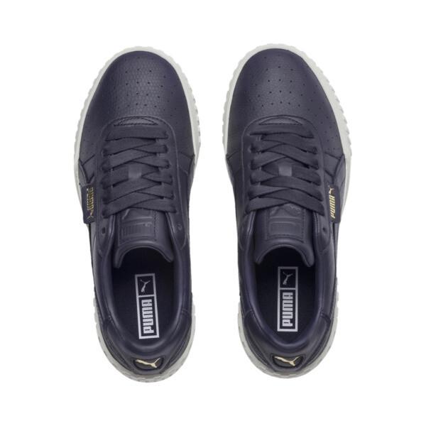 Cali Emboss Women's Sneakers, Peacoat-Peacoat, large