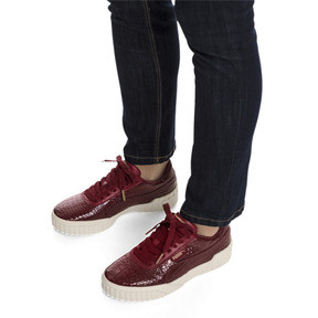 Thumbnail 2 of Cali Croc Women's Sneakers, Pomegranate-Pomegranate, medium