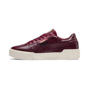 Thumbnail 1 of Cali Croc Women's Trainers, Pomegranate-Pomegranate, medium