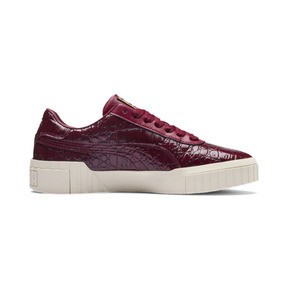 Thumbnail 6 of Cali Croc Women's Trainers, Pomegranate-Pomegranate, medium