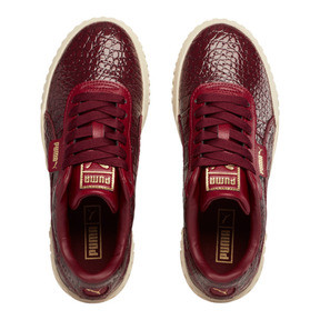 Thumbnail 7 of Cali Croc Women's Sneakers, Pomegranate-Pomegranate, medium