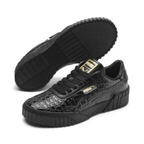 Miniaturka 2 Damskie tenisówki Cali Croc, Puma Black-Puma Black, średnie