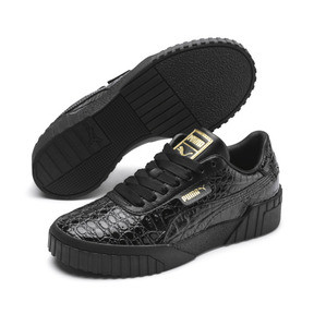 Thumbnail 1 of Cali Croc Women's Trainers, Puma Black-Puma Black, medium
