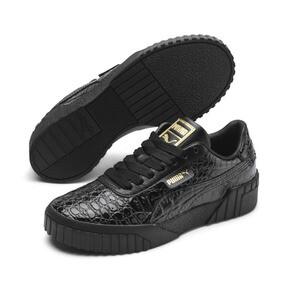 Miniaturka 1 Damskie tenisówki Cali Croc, Puma Black-Puma Black, średnie