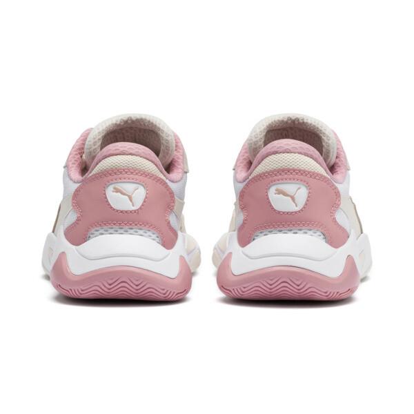 Storm Origin Sneakers, Pastel Parchment-Puma White, large