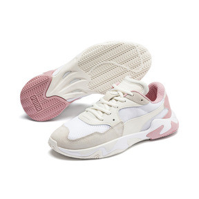 Thumbnail 3 of Storm Origin Trainers, Pastel Parchment-Puma White, medium