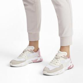 Thumbnail 2 of Storm Origin Sneakers, Pastel Parchment-Puma White, medium