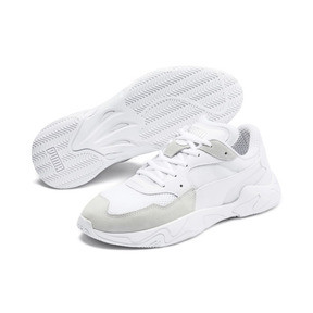 Thumbnail 3 of Storm Origin Trainers, Puma White, medium