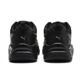 Thumbnail 3 of Cilia Women's Sneakers, Black-Silver-Peach Bud, medium