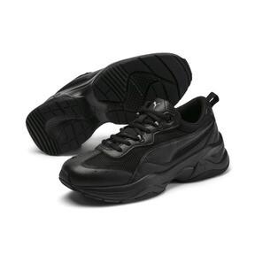 Thumbnail 2 of Cilia Women's Sneakers, Black-Silver-Peach Bud, medium