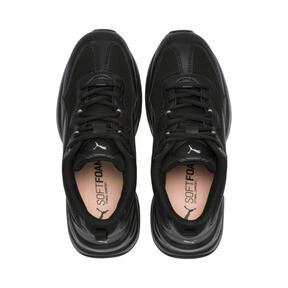 Thumbnail 6 of Cilia Women's Sneakers, Black-Silver-Peach Bud, medium