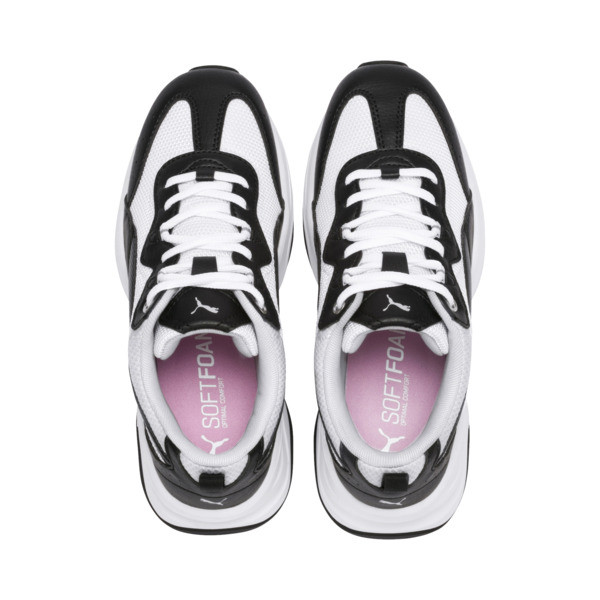 Cilia Women's Trainers, Black-White-G Violet-Silver, large