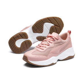 Thumbnail 2 of Cilia Women's Sneakers, Peach Bud-White-Silver-Gum, medium